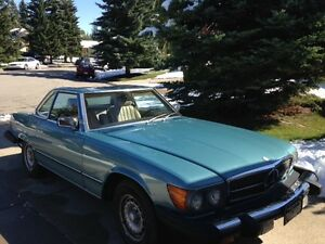 1982 Mercedes 380SL Convertible Coupe