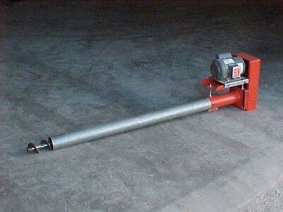 E8 X 12 Bulk Tank Grain Or Feed Auger Screw Conveyor