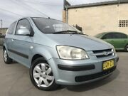 2004 Hyundai Getz TB MY04 GL Blue 5 Speed Manual Hatchback Cambridge Park Penrith Area Preview