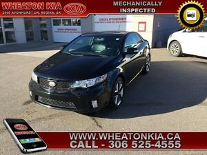2010 Kia Forte Koup SX Koup with Leather and Sunroof.
