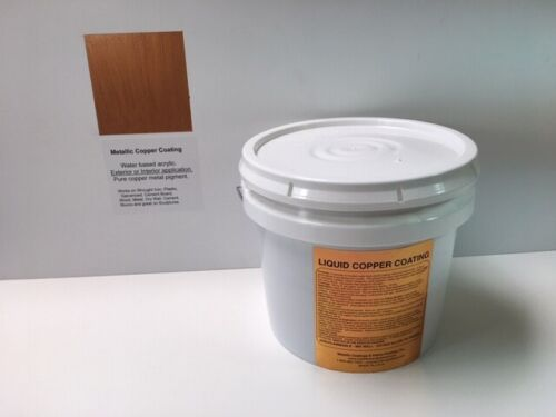 Copper Metallic Paint For Exterior and Interior Application 1 Gallon