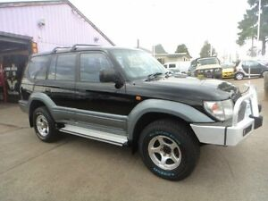 1999 Toyota Landcruiser Prado VZJ95R GXL (4x4) Black 4 Speed Automatic 4x4 Wagon North St Marys Penrith Area Preview