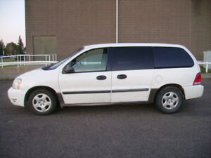 2005 Ford Freestar CARGO Van.Only 103288 km since new