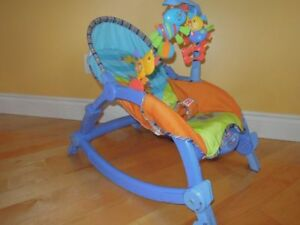 Fisher Price Rocker vibrating chair