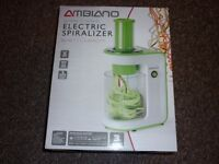 Ambiano Electric Spiralizer - 3 Stainless Steel Blades-Easy To Clean