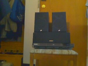 blu-ray and speakers
