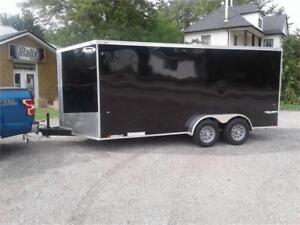 7 'x 16' - Enclosed Cargo Trailer - Steel Frame