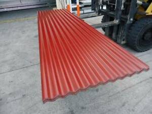 ROOFING IRON CORRO MANOR RED @ 3.4 MTR LENGTHS Jimboomba Logan Area Preview