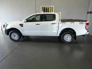 2013 Ford Ranger PX XL 3.2 (4x4) White 6 Speed Automatic Dual Cab Utility Woodridge Logan Area Preview