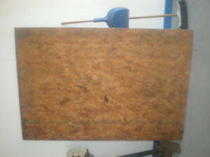 3/4 Partial Sheet Of Chipboard