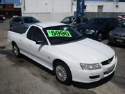 2006 Holden Ute VZ MY06 White 4 Speed Automatic Utility Broadmeadow Newcastle Area Preview