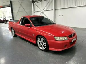 2005 Holden Commodore VZ S Red 4 Speed Automatic Utility