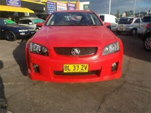 2010 Holden Commodore VE MY10 SV6 Red 6 Speed Automatic Sportswagon Cardiff Lake Macquarie Area Preview