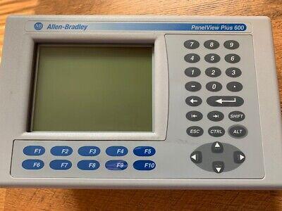 Allen Bradley 2711p-k6m20d Ser C Panelview Plus 600 No Scratches On Screen