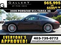 2009 Porsche 911 Targa 4S w/PDK $599 bi-weekly