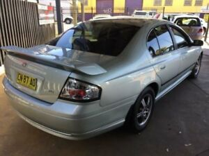 2003 Ford Falcon BA XT Green 4 Speed Auto Seq Sportshift Sedan