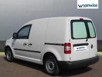 2015 Volkswagen Caddy 1.6 TDI 102PS Startline Van Diesel white Manual
