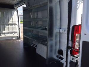 Mercedes Sprinter Ford Transit Promaster étagères tablettes