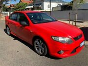 2008 Ford Falcon FG XR6 Red 6 Speed Auto Seq Sportshift Sedan Mount Hawthorn Vincent Area Preview