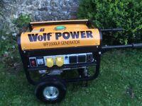Wolf petrol generator