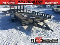 "2019 PJ 20' x 5"" Channel Carhauler Trailer, 7K GVWR Winnipeg Manitoba Preview"