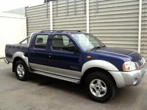 2002 Nissan Navara D22 ST-R (4x4) Blue 5 Speed Manual Dual Cab Pick-up Edwardstown Marion Area Preview