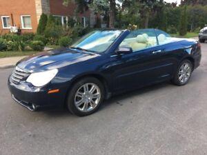 2008 Chrysler Sebring convertible cuir