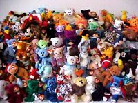 ✭ WANTED ✭ TY BEANIE BABIES / BABY - COLLECTIONS LARGE & SMALL