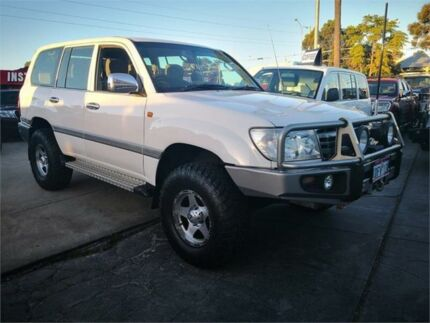2005 Toyota Landcruiser UZJ100R GXL (4x4) White 5 Speed Manual Wagon Cannington Canning Area Preview