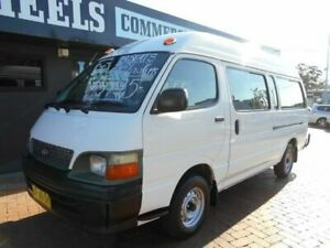 2003 Toyota HiAce RZH125R Commuter White 4 Speed Automatic Bus Croydon Burwood Area Preview