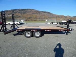 NEW 14K 19' BEAVERTAIL HEAVY DUTY EQUIPMENT DECKOVER TRAILER