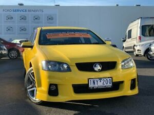 2010 Holden Commodore VE II SV6 Yellow 6 Speed Sports Automatic Sedan Frankston Frankston Area Preview