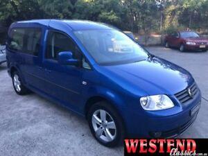2010 Volkswagen Caddy 2K Blue Sports Automatic Dual Clutch Wagon Lisarow Gosford Area Preview