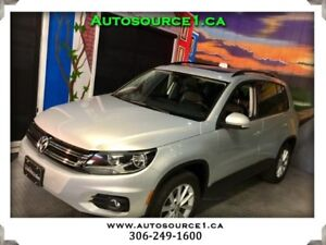 2013 Volkswagen Tiguan Comfortline AWD | LEATHER | SUNROOF