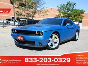 "2016 Dodge Challenger SXT PLUS | LEATHER | SUNROOF | 20"" RT CLASSIC WHE"