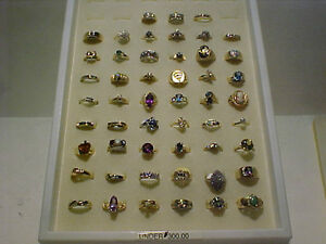 Nothing OVER $300.00! GOLD/DIAMONDS/SEMI PRECIOUS STONES