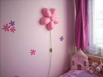 IKEA SMILA BLOMMA Kinderlampe Wandleuchte Wandlampe Lampe Leuchte rosa NEU & OVP