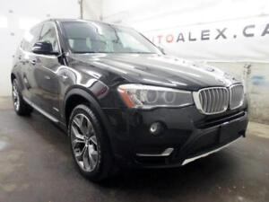 2015 BMW X3 X-LINE TOIT PANOR MAGS 19 CAMERA xDrive28i *73$/SEM*