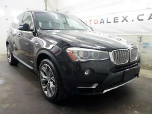 2015 BMW X3 X-LINE TOIT PANOR MAGS 19 CAMERA xDrive28i