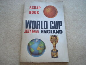 1966 WORLD CUP WILLIE SCRAP BOOK