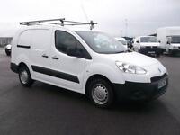 Peugeot Partner L2 716 S 1.6 HDI 92 BHP CREW VAN DIESEL MANUAL WHITE (2012)