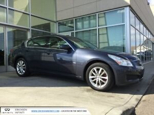 2009 Infiniti G37x AWD/LEATHER/HEATED SEATS/SUNROOF/ACCIDENT FRE