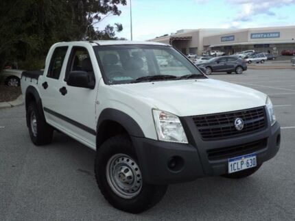 2006 Holden Rodeo RA MY06 Upgrade LX (4x4) White 4 Speed Automatic Crewcab Maddington Gosnells Area Preview