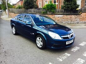 VAUXHALL VECTRA 1.9 EXCLUSIV CDTI 16V 5DR Automatic (turquoise) 2007