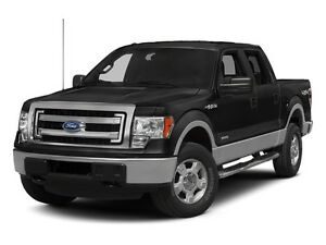 2013 Ford F-150 SuperCrew 4x4 XLT 145""