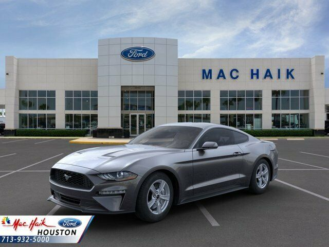 2020 Ford Mustang EcoBoost 2088 Miles Magnetic Metallic 2dr Car Intercooled Turb