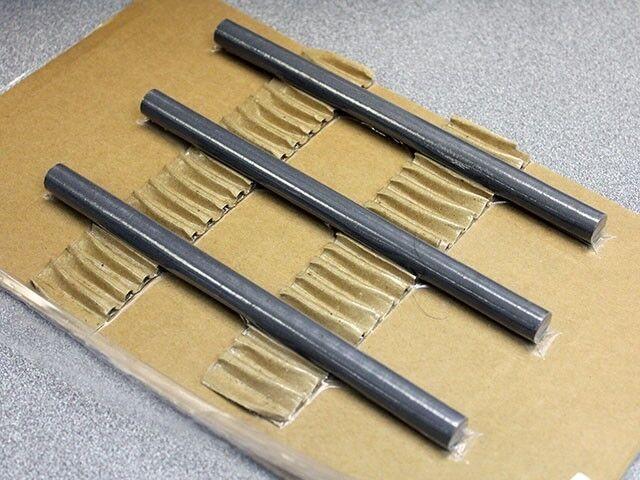 "One Type 61 Material Ferrite Rod, R61-050-600, Dia 0.5"", Length 6"""