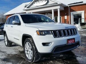 2017 Jeep Grand Cherokee Limited 4x4, Sunroof, Remote Start, Bac