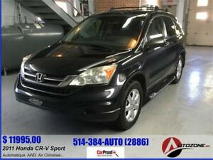 2011 Honda CR-V AWD SPORT/MARCHES LATERALES/TOUTE EQUIPEE