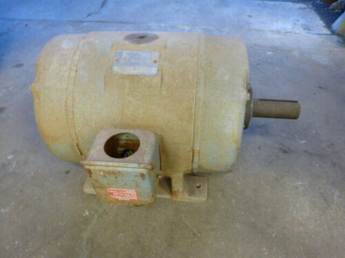 used runs GE General Electric Motor 40 HP 3540 RPM 286TZ Frame 3 Phase 230/460